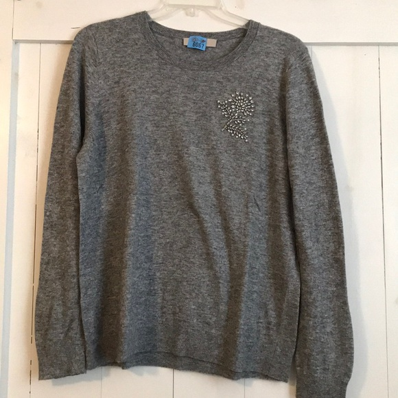 LOFT Sweaters - Loft Sweater with Floral Detail